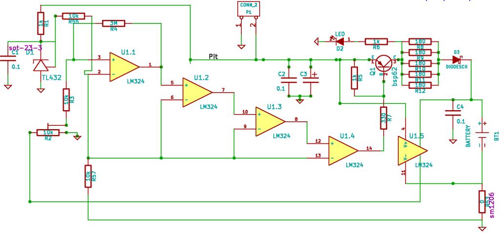 Зарядка Ni-Cd аккумуляторов.
